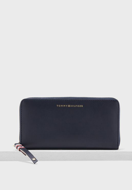 Tommy Hilfiger Stitch Leather  Wallet