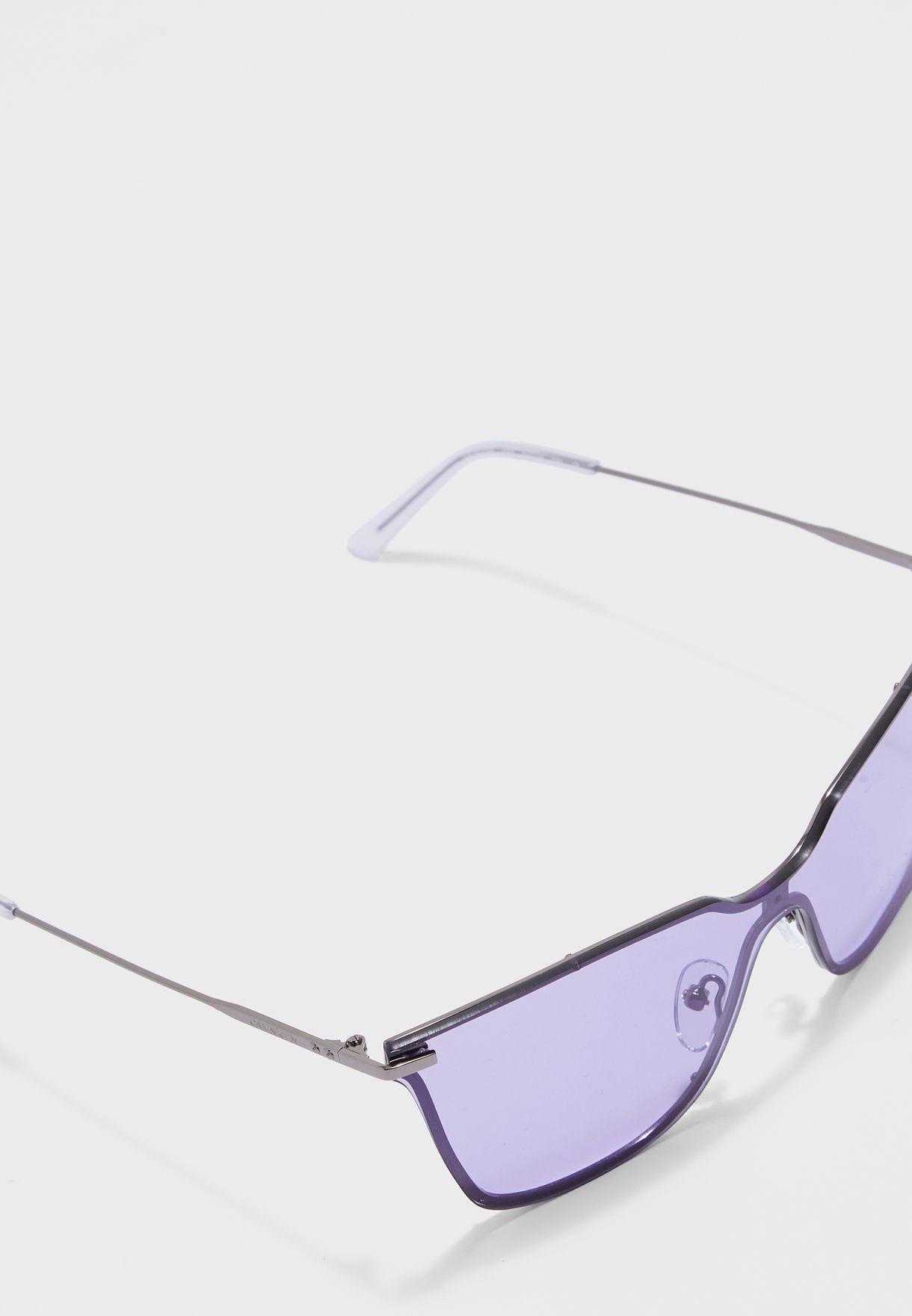 CK18115S Shield Sunglasses