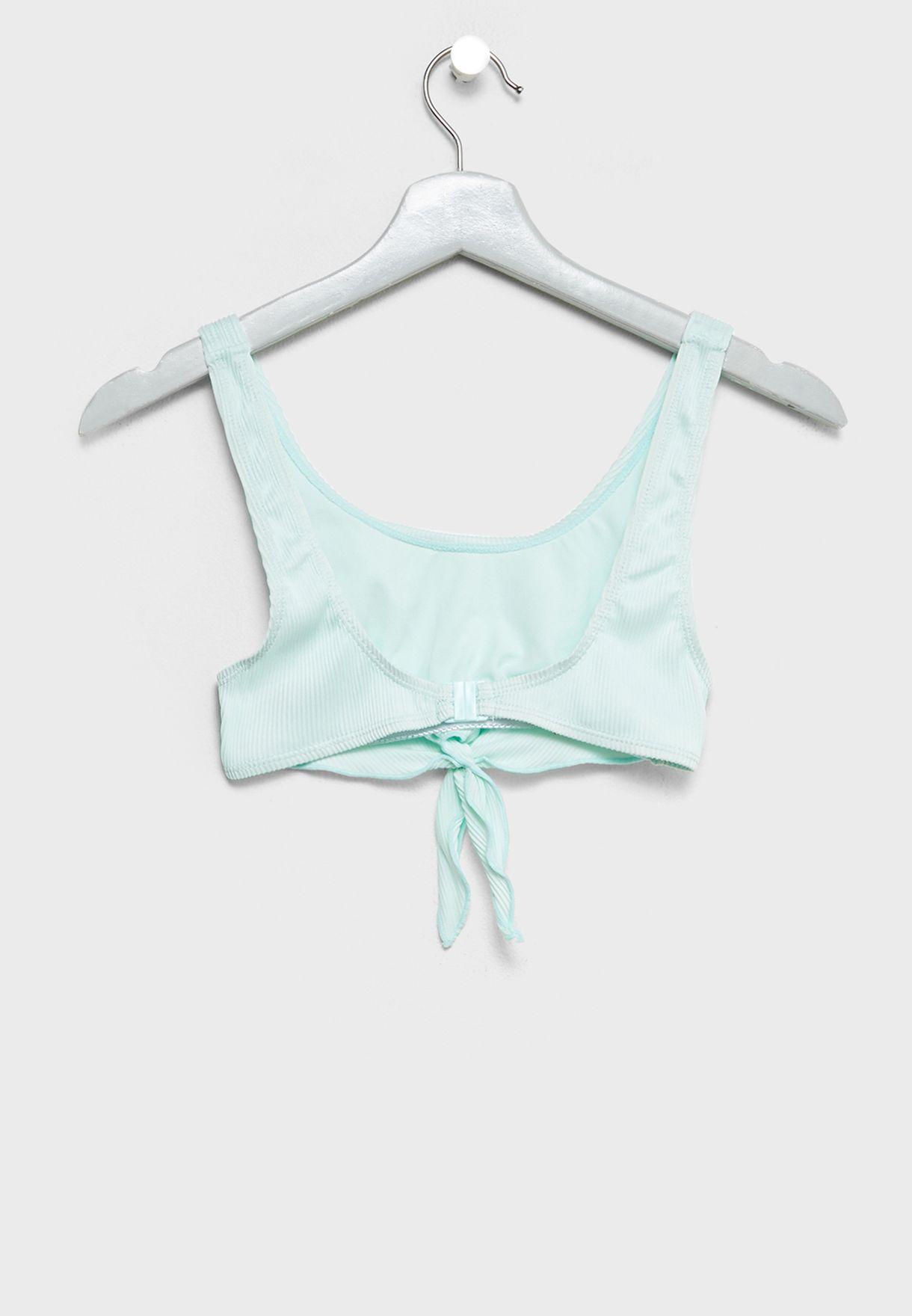 Teen Knot Detail Bikini Set