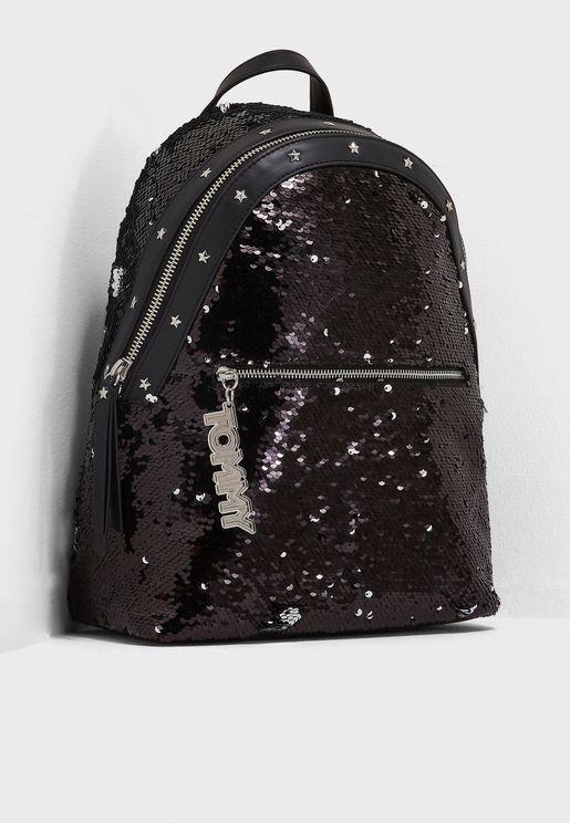 Mascot Sequins Backpack