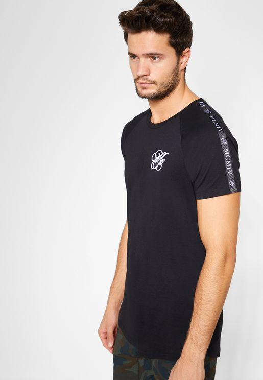 Iconic Taped Sleeve Crew Neck T-Shirt