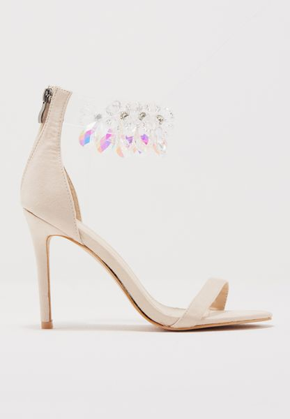 Galaxy Crystal Ankle Strap Barely There