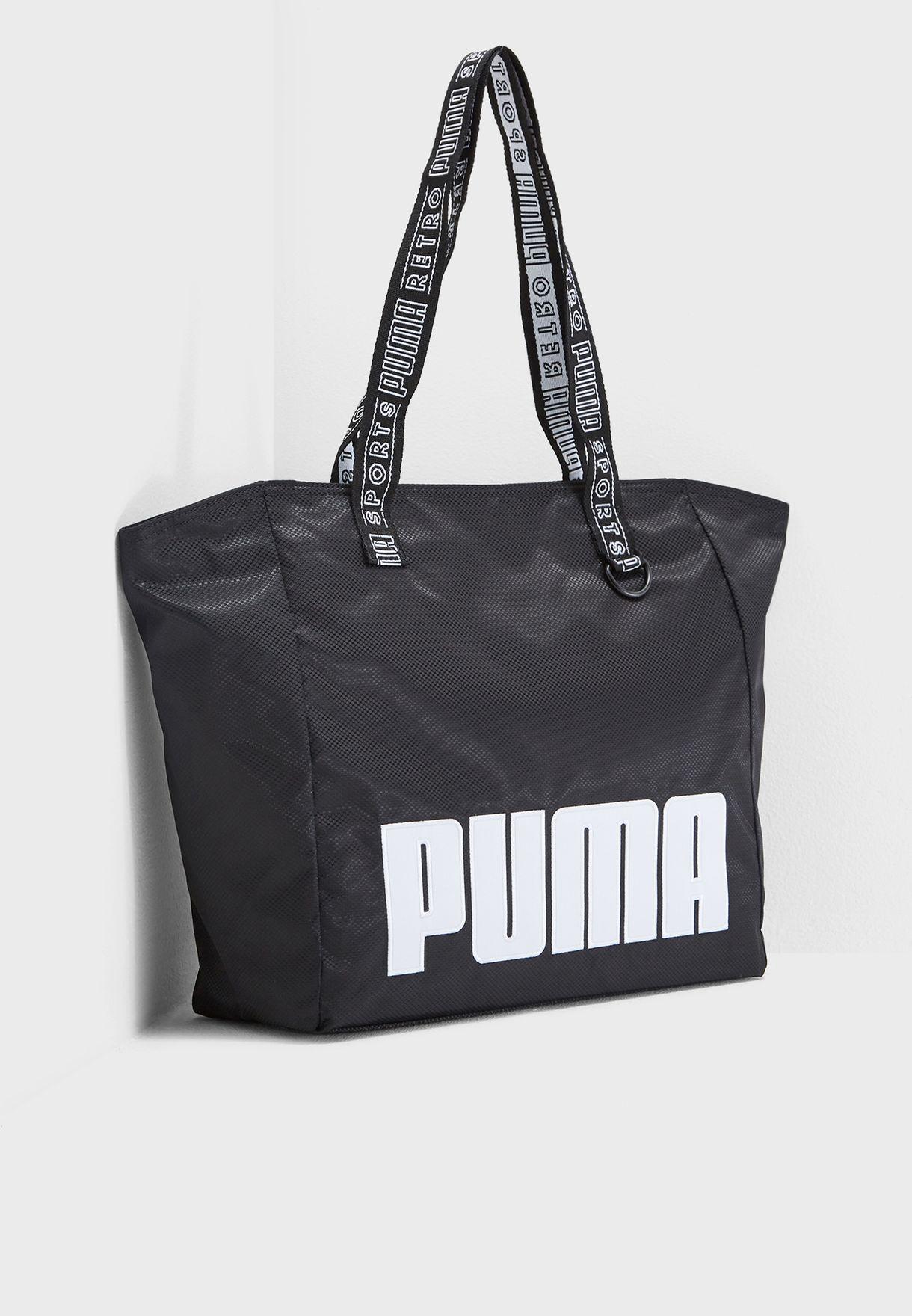 5efb6af96f2d Shop PUMA black Large Prime Street Shopper 7540901 for Women in Bahrain -  PU020AC52EWX