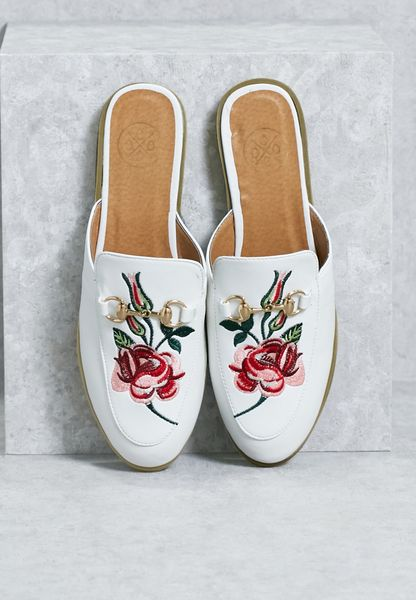 Embroidered Slipon