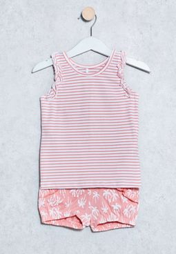 Infant Dashine T-Shirt + Shorts Set