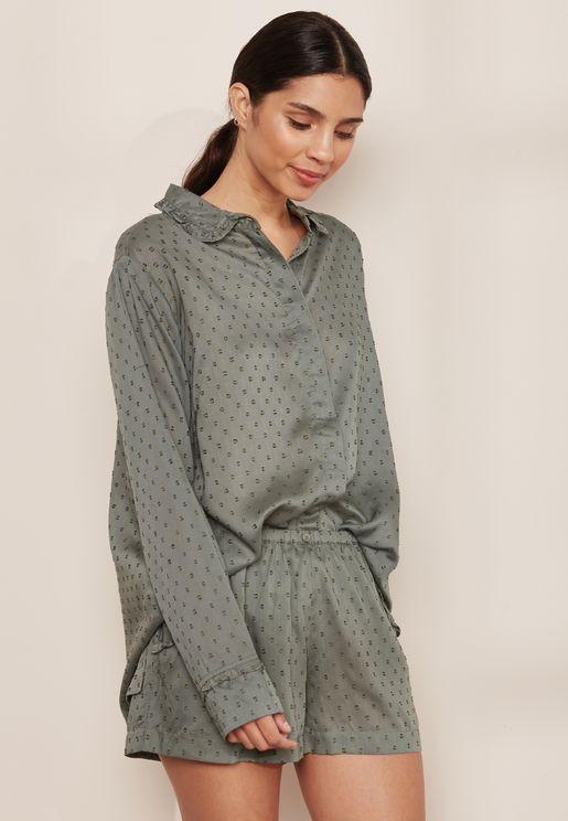Monica Pyjama Shirt