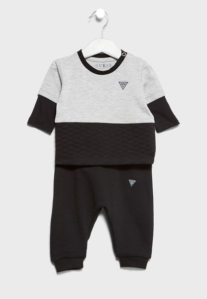 Infant Sweatshirt + Sweatpants Set