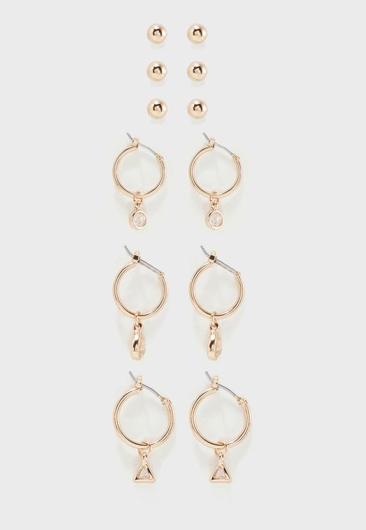Multipack Aericia Earrings