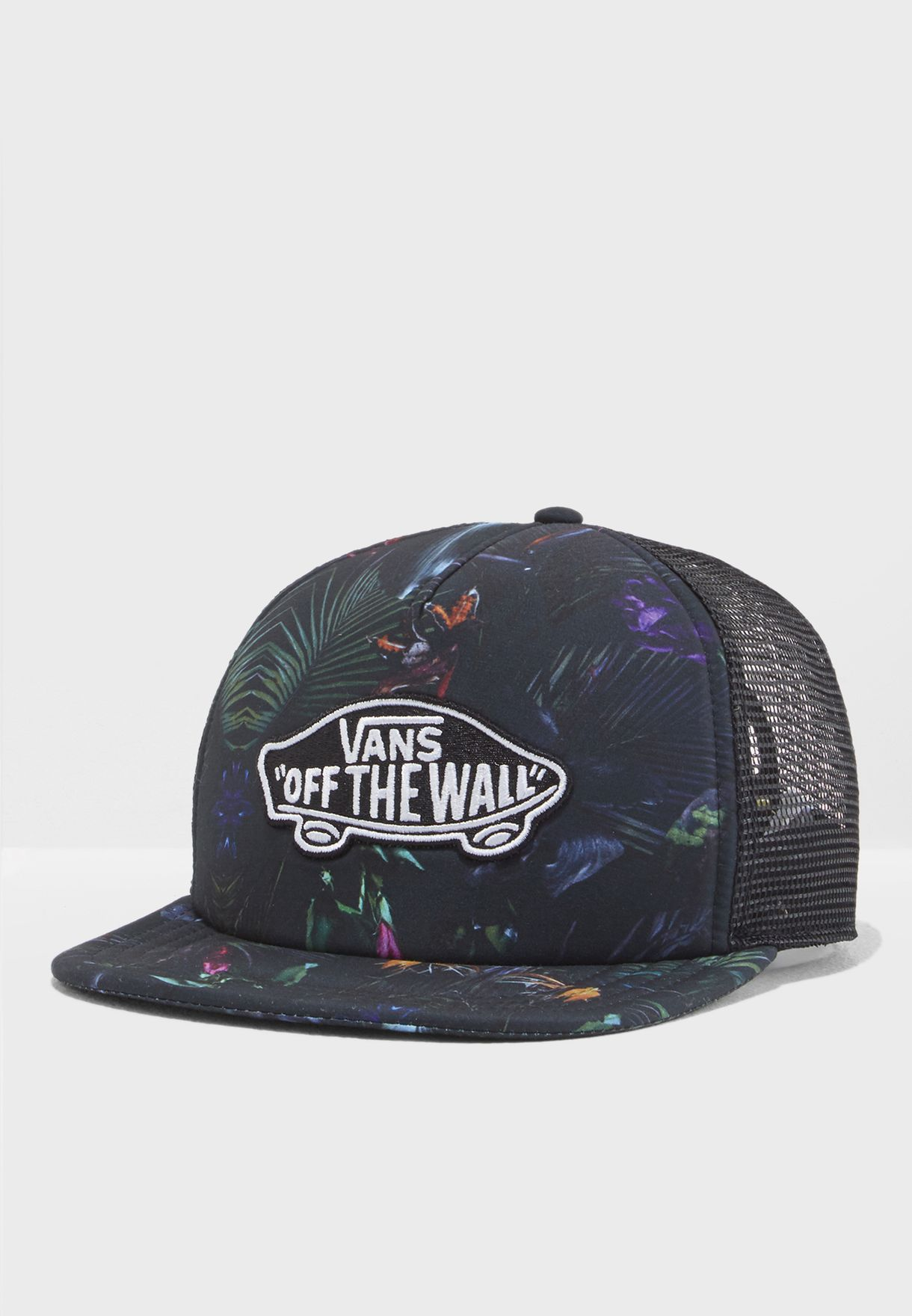 751ceb930f9 Shop Vans prints Classic Patch Trucker Plus V00O2VPI3 for Men in ...