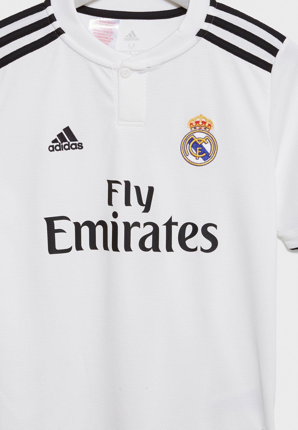 تيشيرت  بشعار نادي ريال مدريد لكرة القدم
