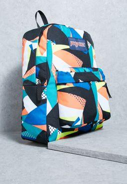 Stellar Geo Floral Superbreak Backpack