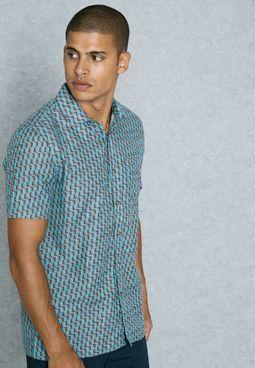 Geo Dobby Shirt