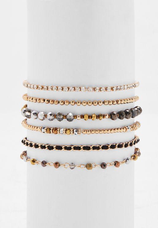 Multipack Jeradonna Bracelets