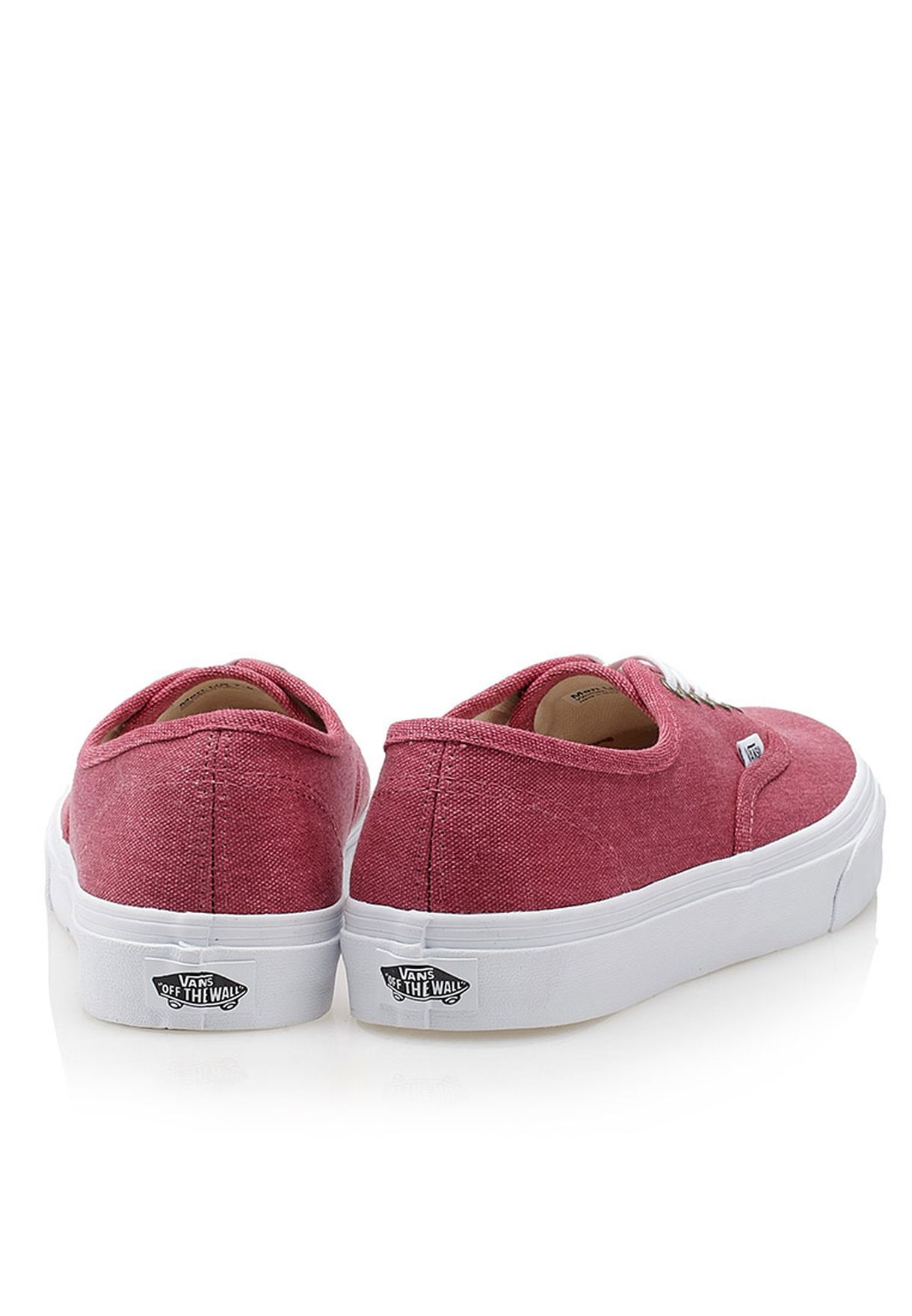 7478dffe08 Shop Vans pink Authentic Slim Washed Sneakers for Women in Oman ...