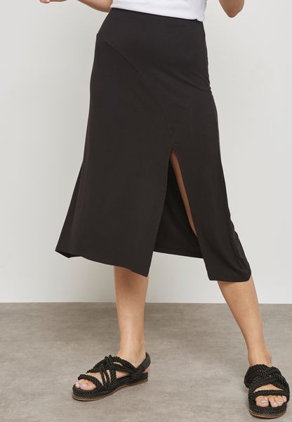 Slit Detail Skirt
