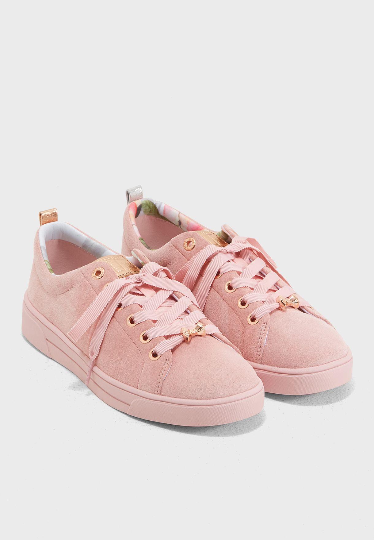914a11bb7927fe Shop Ted baker pink Kelleis Casual Sneaker 916892 for Women in Saudi -  TE456SH52YDZ