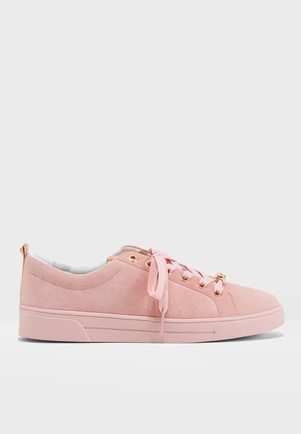 0229afa42cf815 Shop Ted baker pink Kelleis Casual Sneaker 916892 for Women in ...