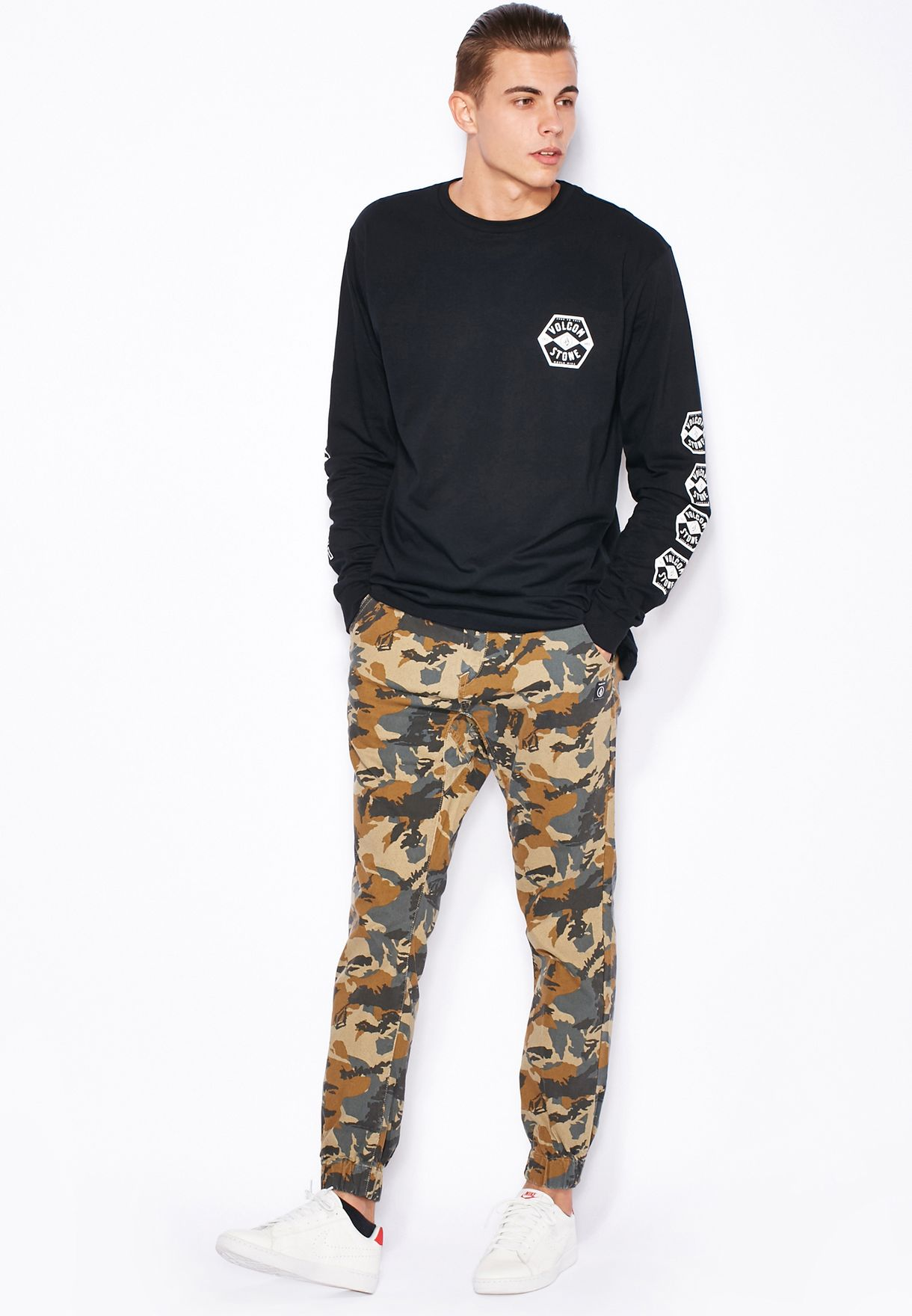 1fb62ac5 Shop Volcom prints Camo Print Sweatpants for Men in Bahrain ...