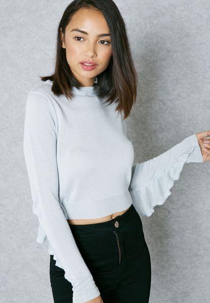 Angel Sleeve Sweater