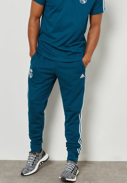 Real Madrid 3 Stripe Sweatpants