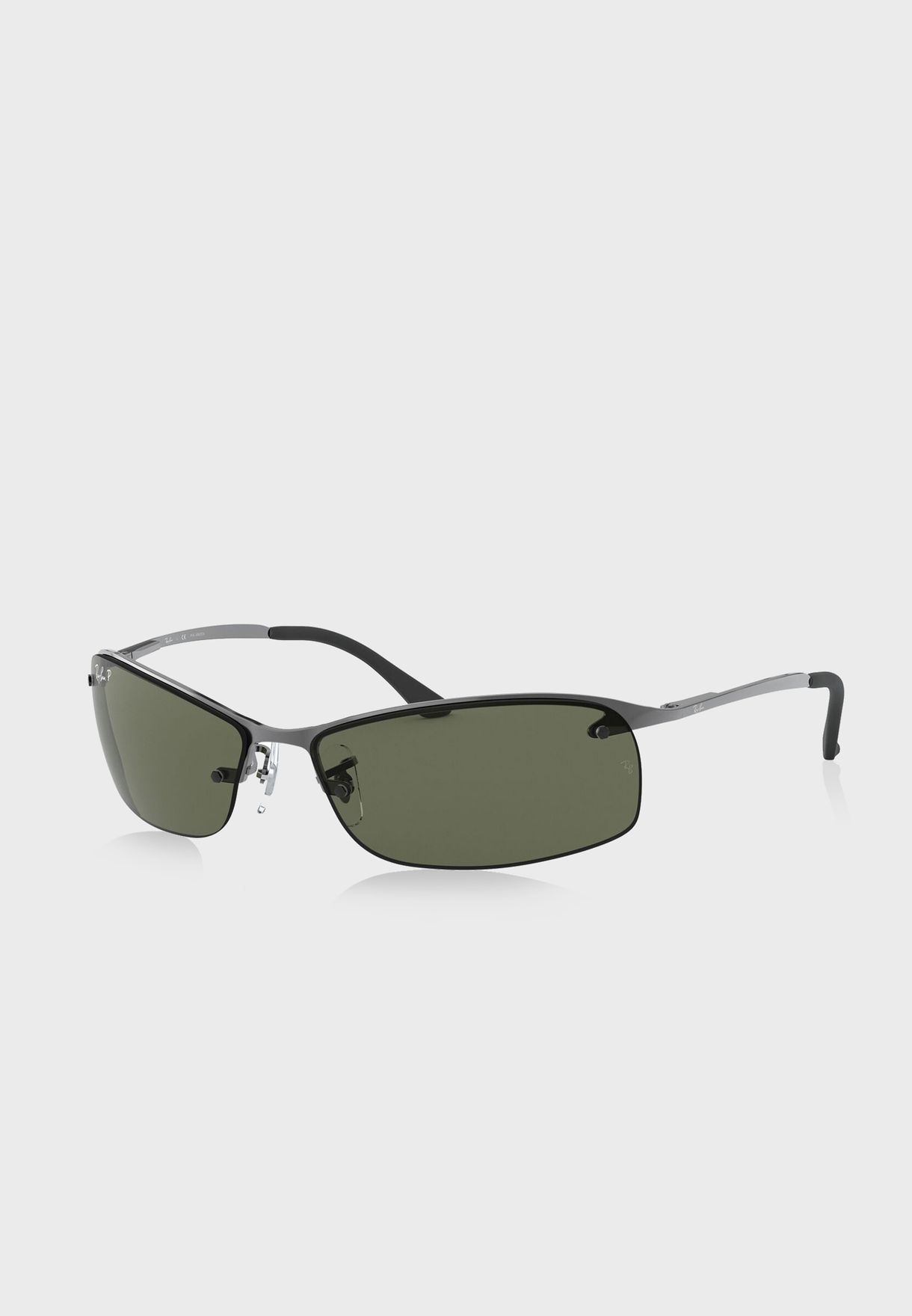 0RB3183 Active Rectangle Sunglasses