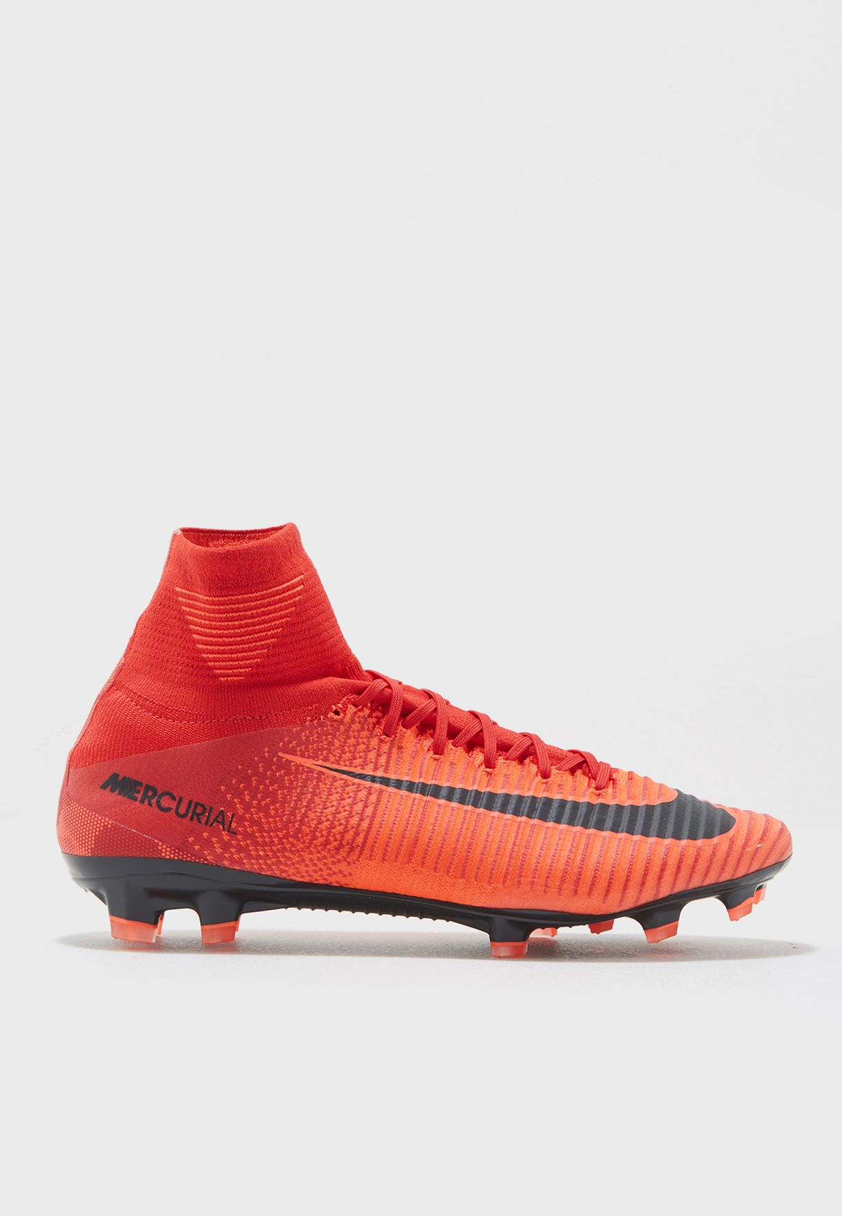 Shop Nike red Mercurial Superfly V FG 831940-616 for Men in UAE ... a559d0473