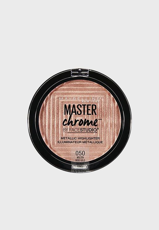 Master Chrome Bronzer and Highlighter 150 Molten Bronze