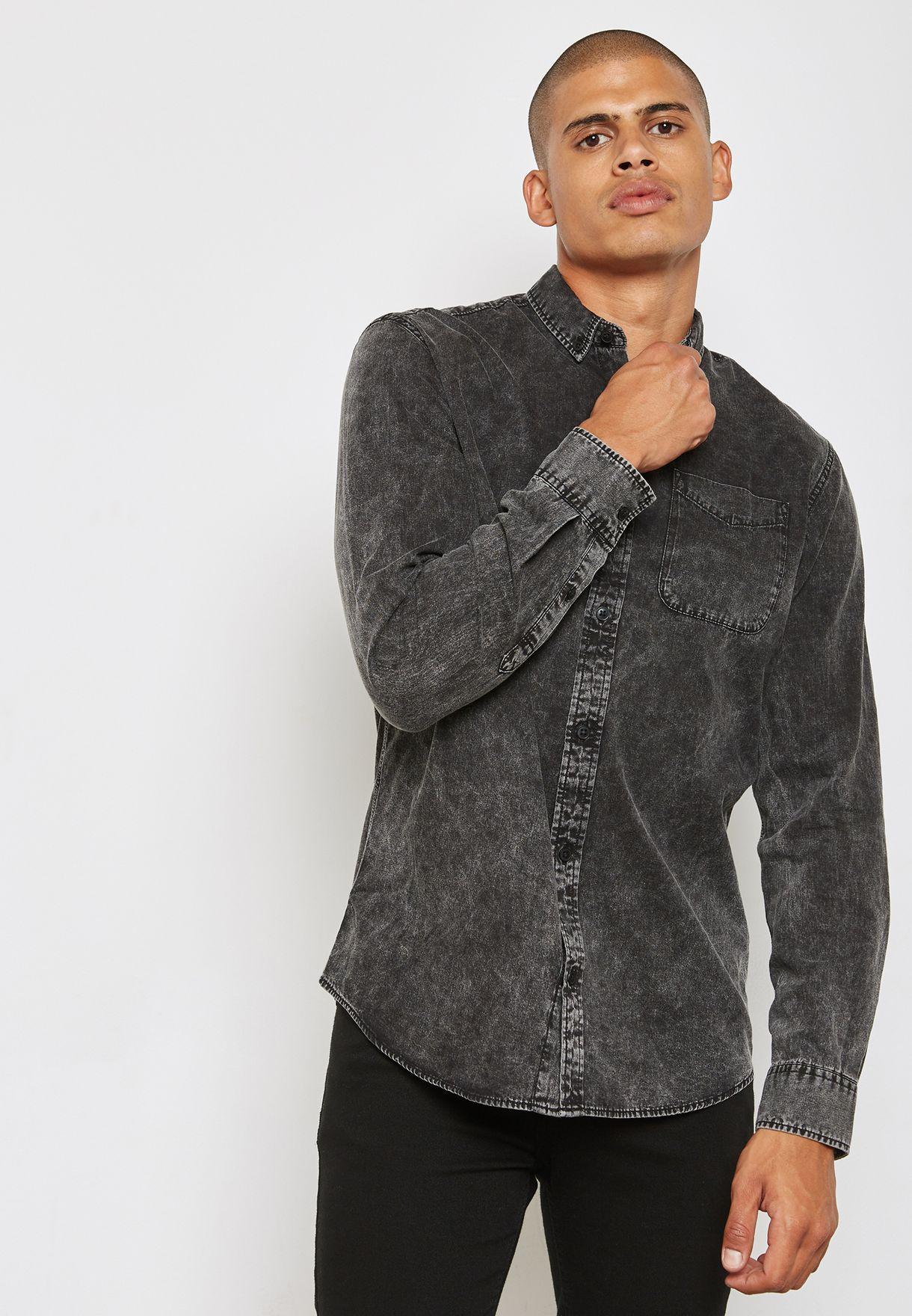 Pocket Denim Shirt