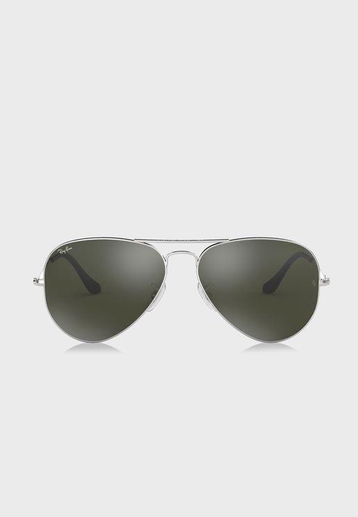 نظارة شمسية افياتور عاكسة
