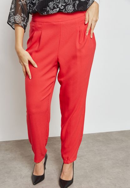 High Waist Tapered Pants
