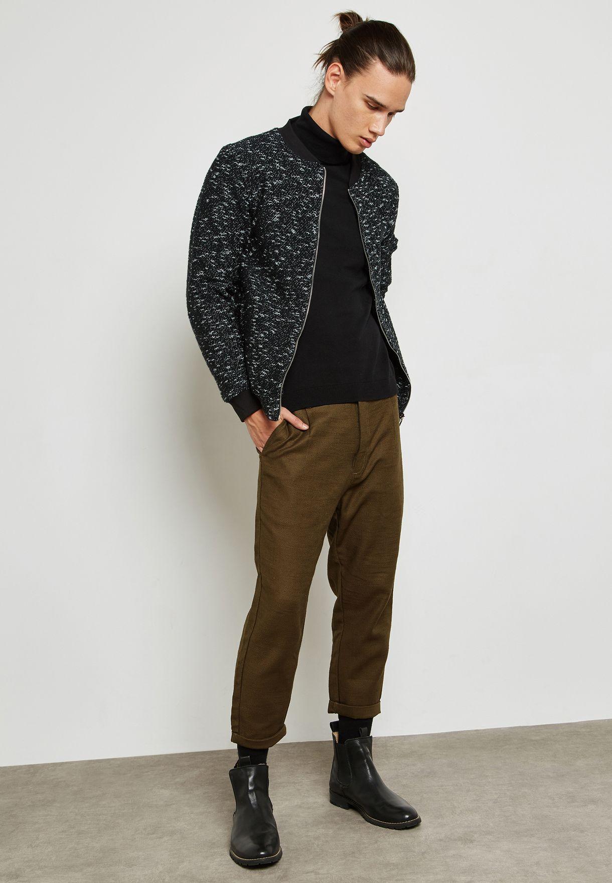 Sam Zipped Sweatshirt