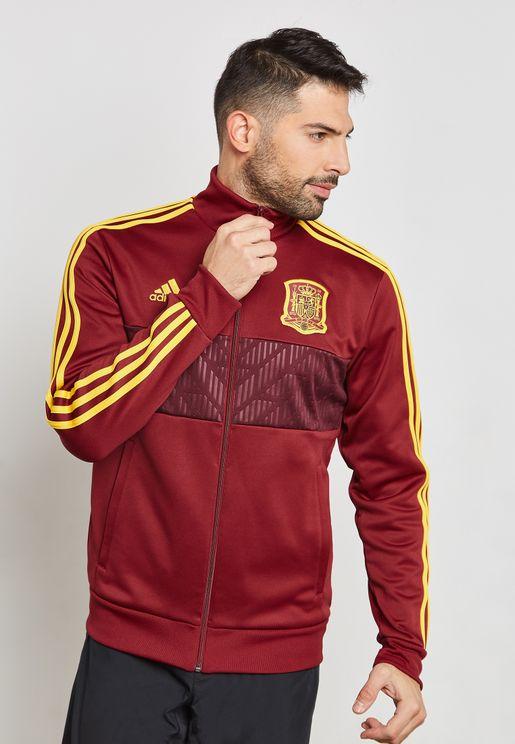 جاكيت بشعار الاتحاد الملكي الإسباني
