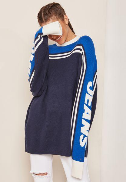 Oversized Colourblock Sweatshirt