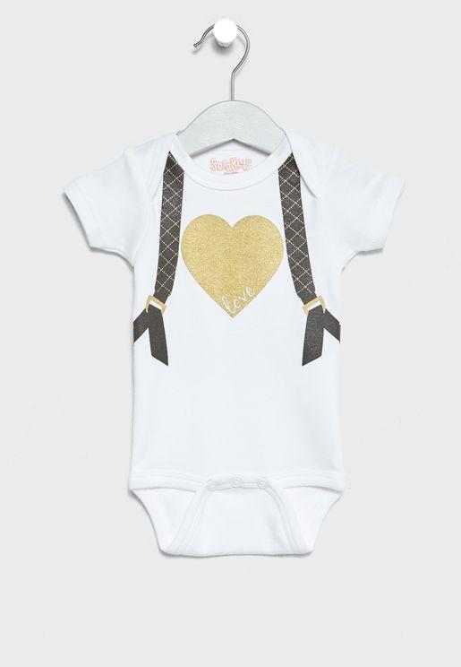 Infant Love Knaps Bodysuit