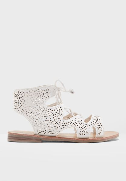 Youth Cut Out Sandal
