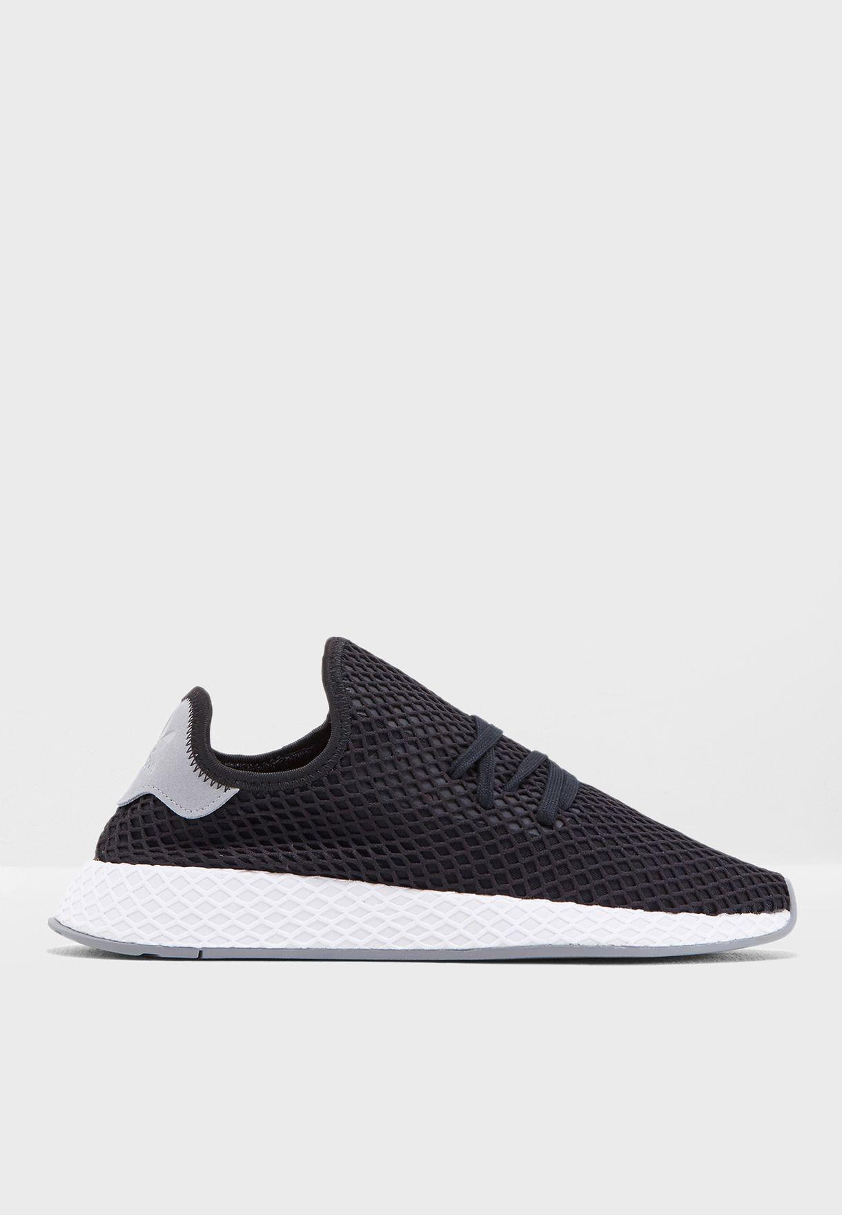 dda1d546d4143 Shop adidas Originals black Deerupt Runner B41765 for Men in UAE ...