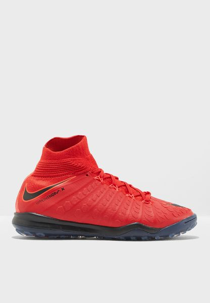 Shop Nike red Hypervenomx Proximo 2 DF TF Youth 852601-616 for Kids in UAE  - NI727SH42QWZ