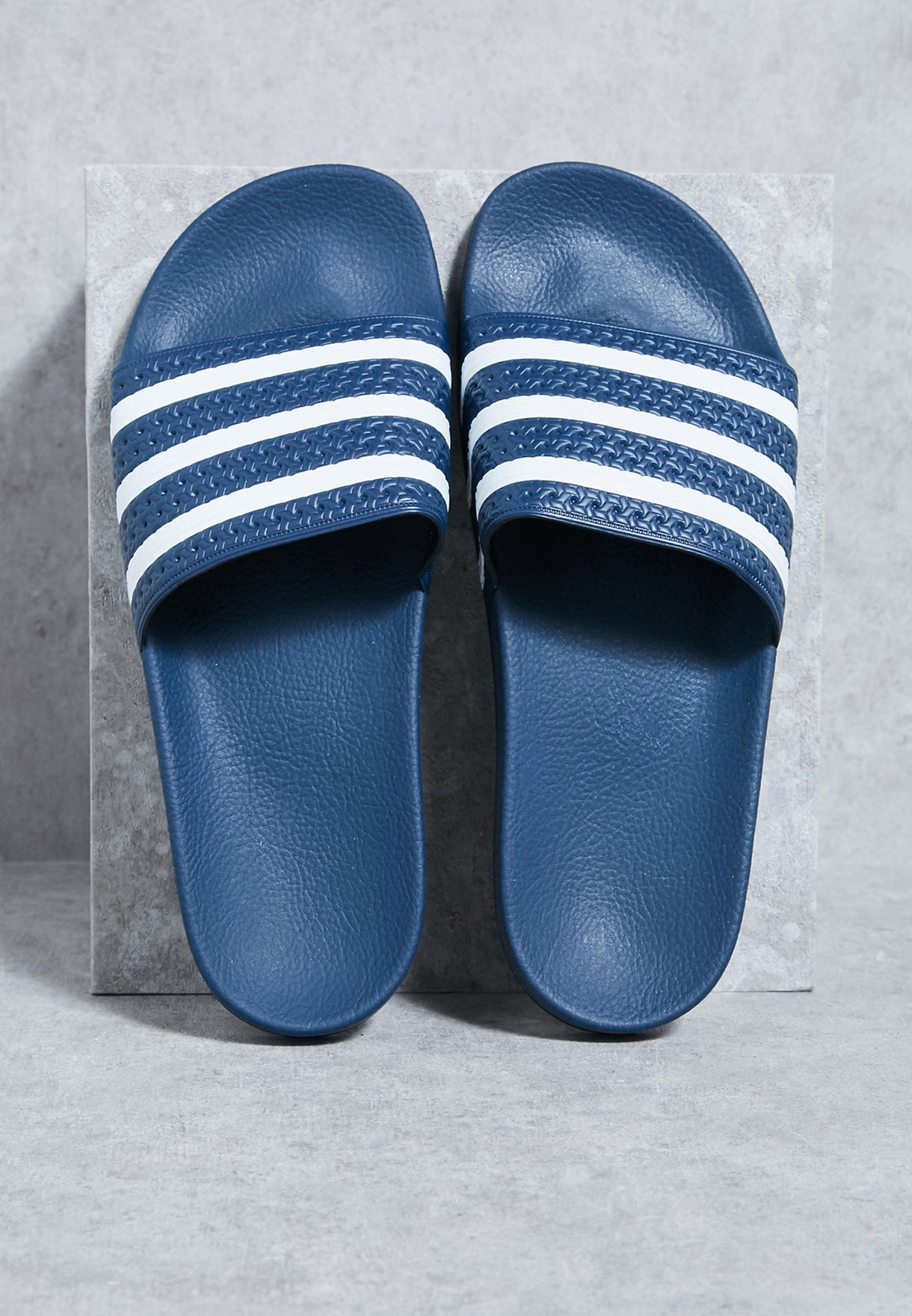 timeless design 08546 41752 Shop adidas Originals navy Adilette 288022 for Men in UAE -