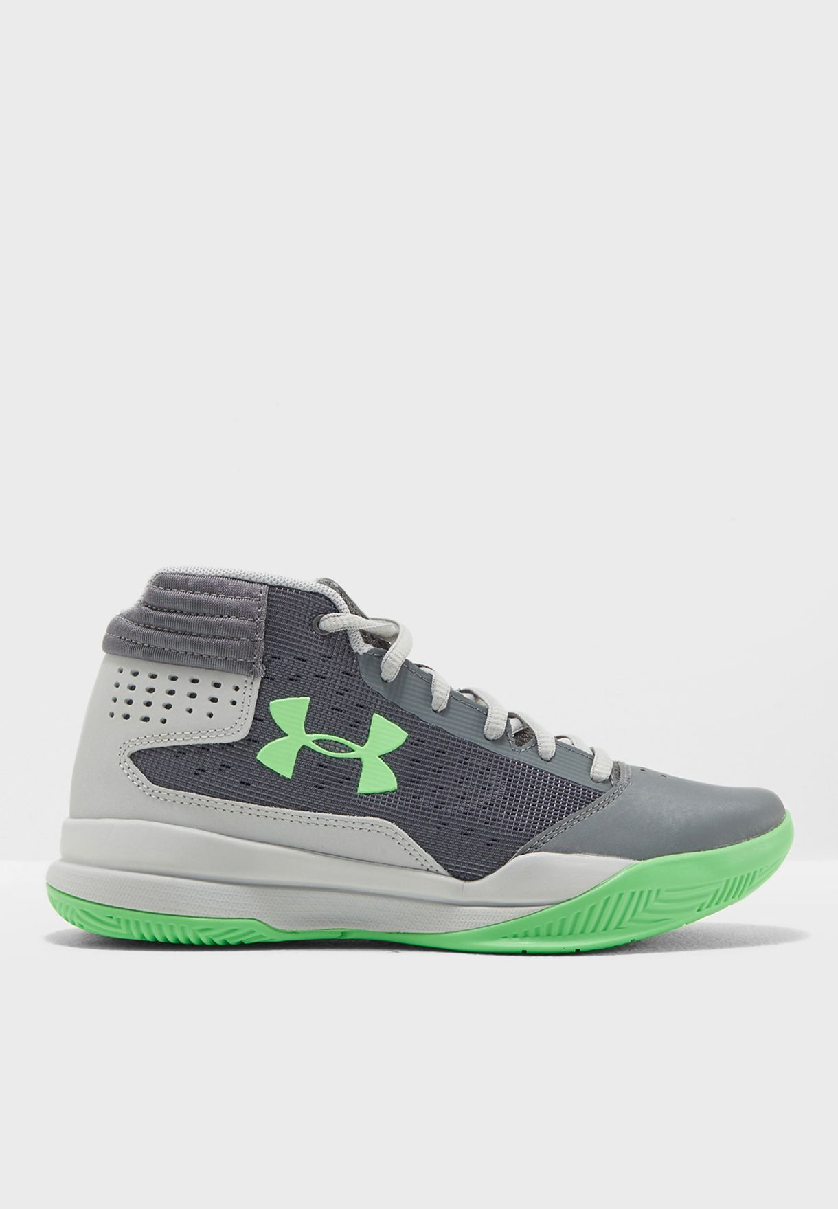 a8f3df03ae9 Shop Under Armour grey Jet 2017 GS 1296009-100 for Kids in UAE ...