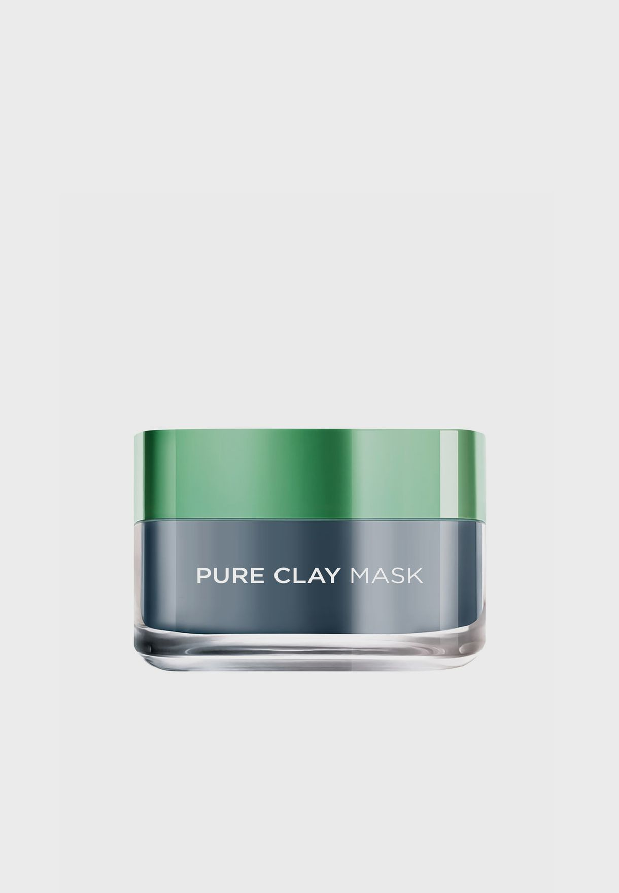 Pure Clay Black Mask With Charcoal, Detoxifies & Clarifies, 50 Ml