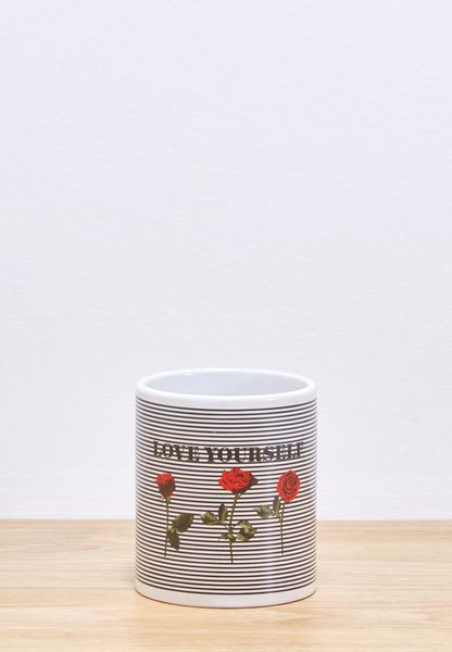 Love Yourself Stripe Mug