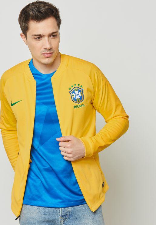 Brazil Anthem Track Jacket