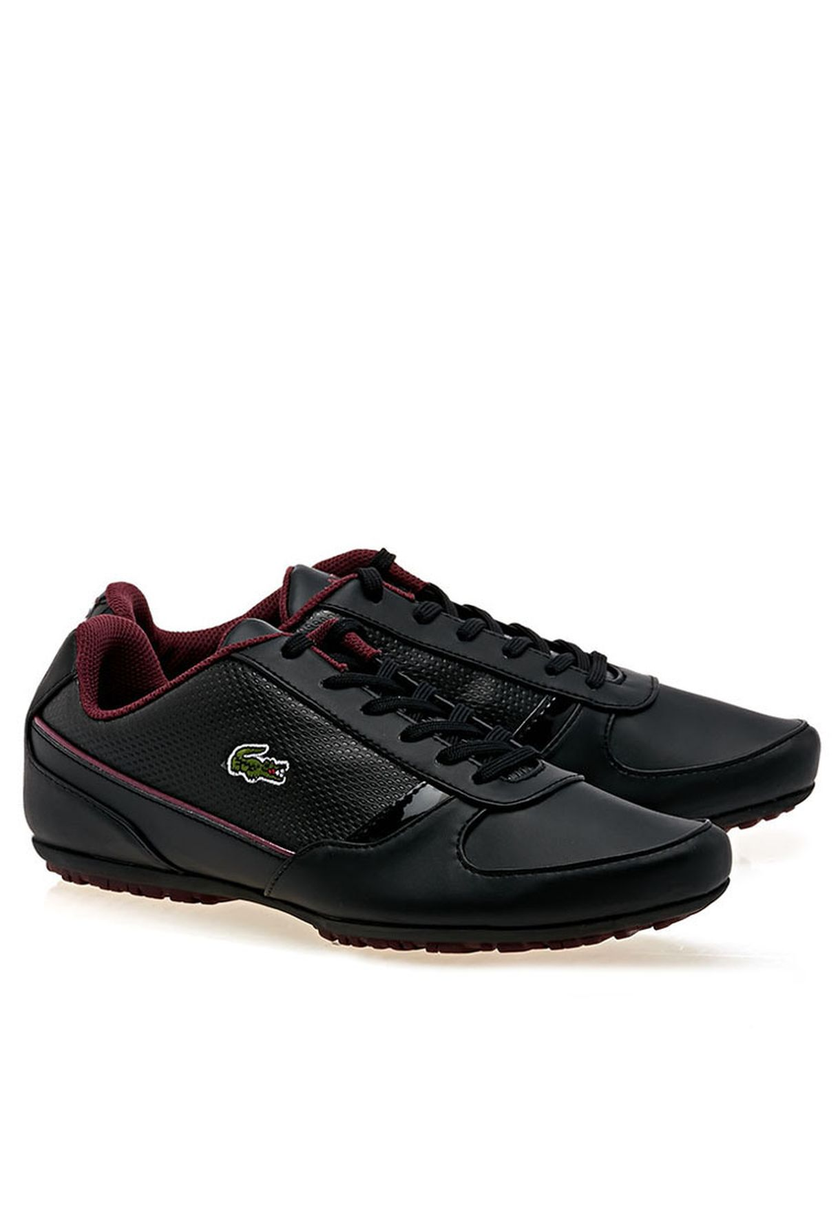 a4ee4768996c1a Shop Lacoste black Atherton Col Sneakers 26SPW1036-1Z3 for Women in ...