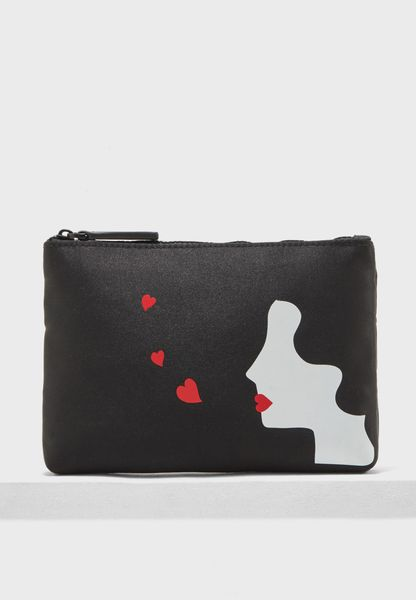 Kissing Cameo Purse