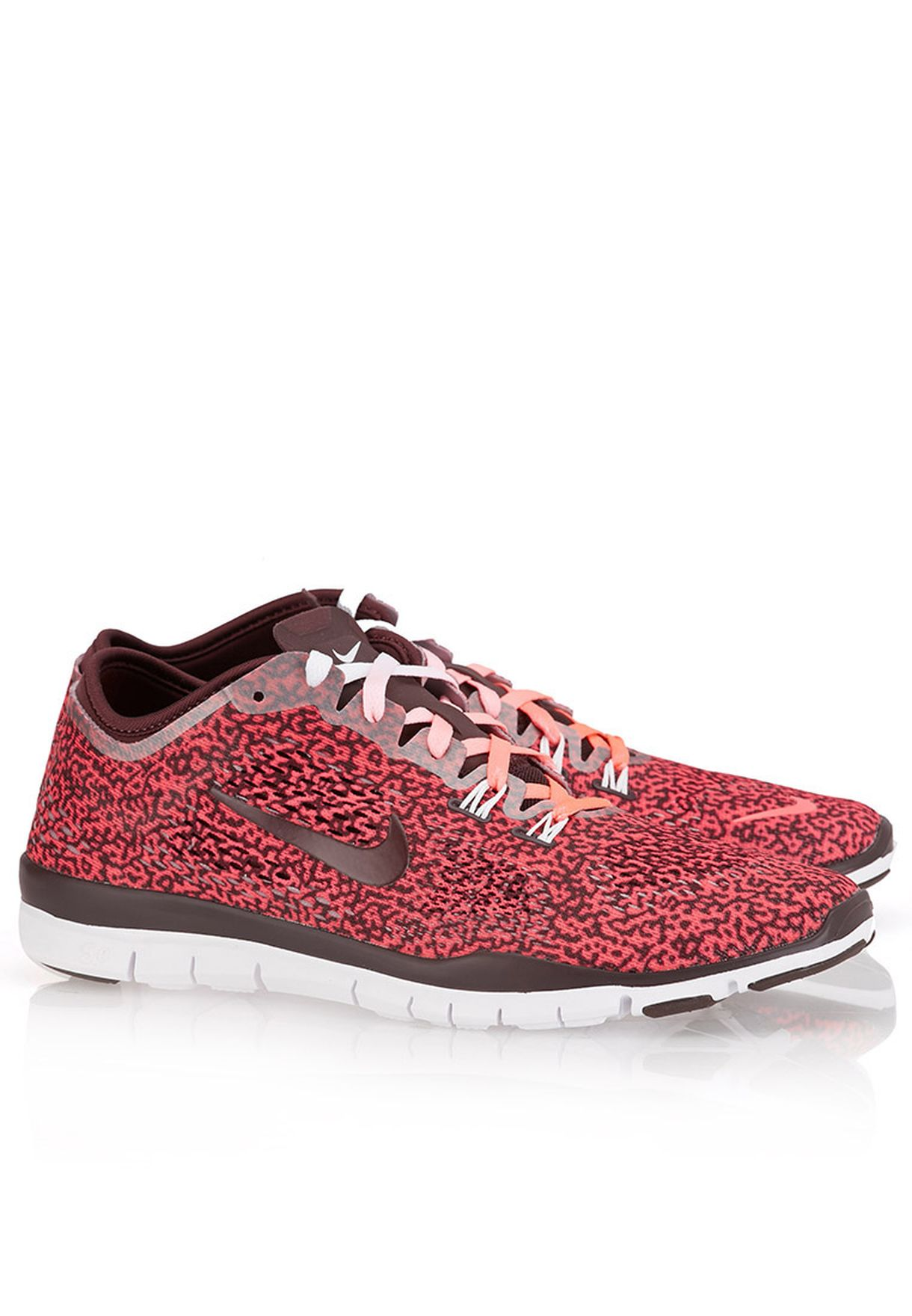 378fb11d89f0f Shop Nike animalprint Free 5.0 TR Fit 4 Print 629832-604 for Women ...