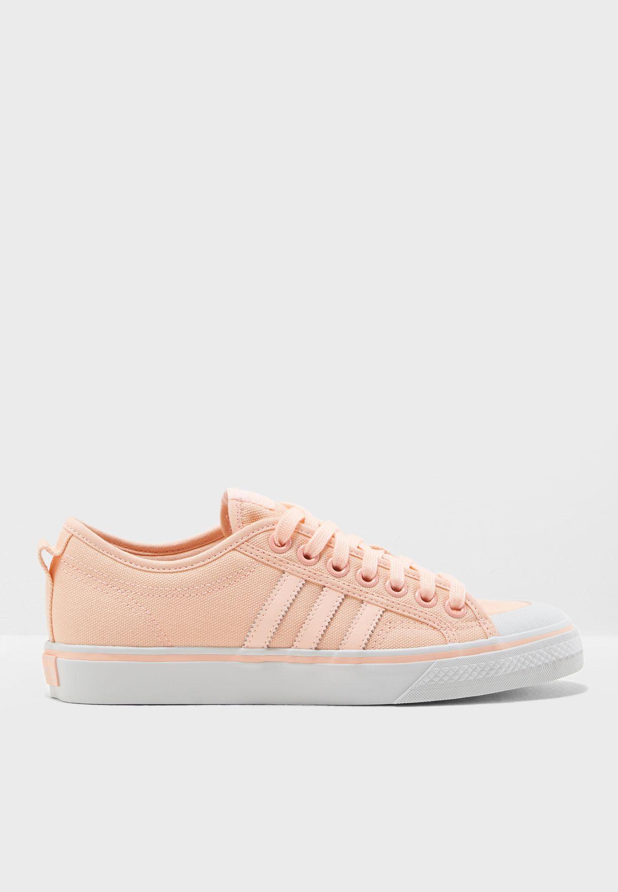 Shop adidas Originals pink Nizza AQ1187 for Women in Bahrain - AD478SH42HWF 155ab740a