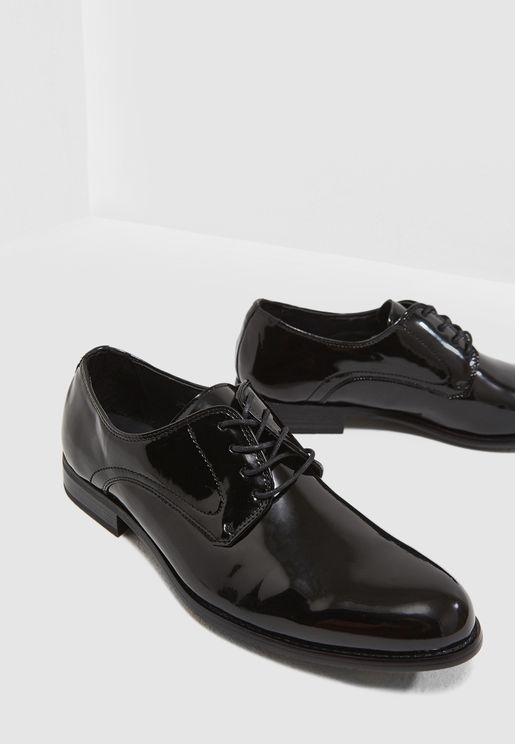 Formal Patent Lace Ups