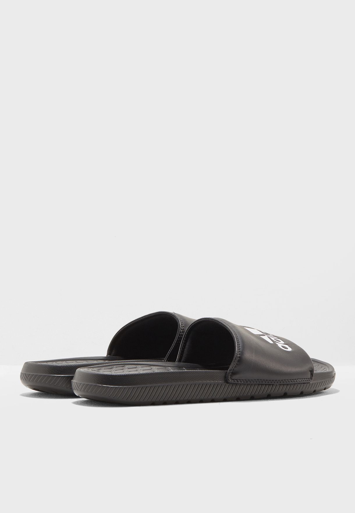 420414a2b6cf Shop adidas black Voloomix Slides CP9446 for Men in UAE - AD476SH42BFH