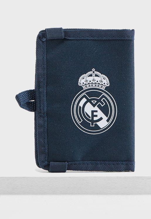 محفظة بشعار نادي ريل مدريد لكرة القدم