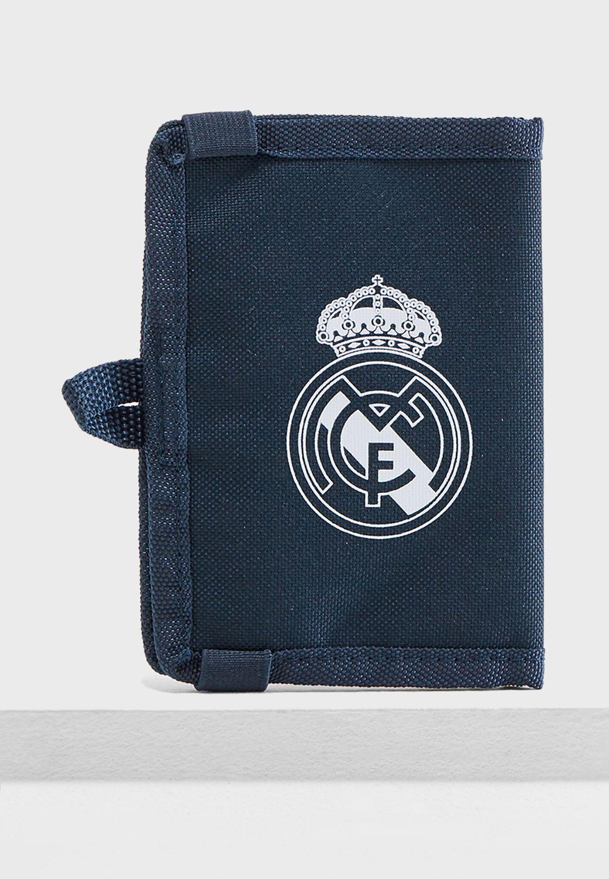 Shop adidas navy Real Madrid Wallet CY5615 for Men in Oman - AD476AC42DSN 445cdbb025ea3